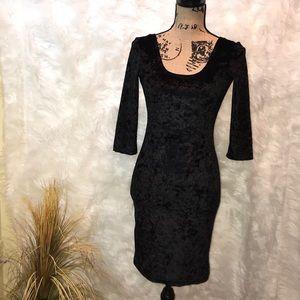 Rue 21 velvet Ladies Dress
